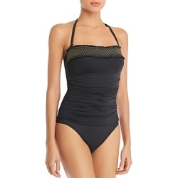 Bleu Rod Beattie Convertible Smocked One Piece Swimsuit found on Bargain Bro UK from Bloomingdales UK