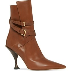 Burberry Women's Hadfield Pedestal Heel Boots found on Bargain Bro India from bloomingdales.com for $1090.00