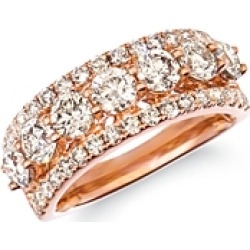 Bloomingdale's Champage Diamond Classic Band in 14K Rose Gold, 2.32 ct. t.w. - 100% Exclusive found on Bargain Bro Philippines from Bloomingdale's Australia for $7832.51