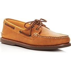Sperry Men's Gold Authentic Original Two Eye Leather Boat Shoes found on Bargain Bro UK from Bloomingdales UK