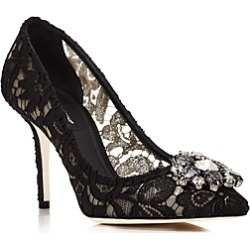 Dolce & Gabbana Women's Lace Embroidered Pumps found on Bargain Bro Philippines from Bloomingdale's Australia for $1053.15