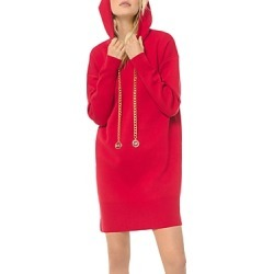 Michael Michael Kors Logo Chain Cotton Stretch Hoodie Dress found on Bargain Bro Philippines from Bloomingdale's Australia for $138.27