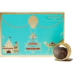 Vahdam India Tea Carnival Loose Leaf Teas, Set of 6