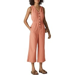 Whistles Ria Button-Down Denim Jumpsuit found on Bargain Bro UK from Bloomingdales UK