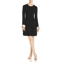 Tory Burch Contrast-Cuff Merino Sweater Dress found on Bargain Bro Philippines from bloomingdales.com for $498.00