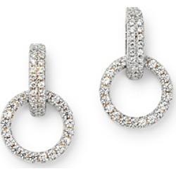 Bloomingdale's Diamond Circle Drop Earring in 14K White Gold, 0.25 ct. t.w. - 100% Exclusive found on Bargain Bro UK from Bloomingdales UK