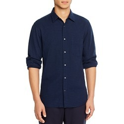 Aspesi Regular Fit Seersucker Shirt found on MODAPINS from bloomingdales.com for USD $180.00