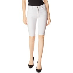 J Brand 811 Denim Bermuda Shorts in Blanc found on MODAPINS from Bloomingdale's Australia for USD $139.89