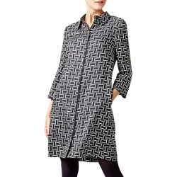 Hobbs London Aubery Geometric Print Shirt Dress found on Bargain Bro Philippines from bloomingdales.com for $135.00