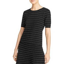 Calvin Klein Stretch-Knit Striped Top