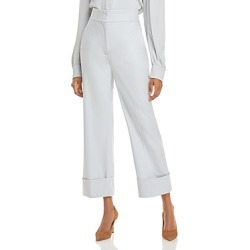 Alberta Ferretti High Waist Cropped Trousers found on MODAPINS from bloomingdales.com for USD $695.00