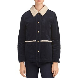 Barbour Mayapple Fleece Lined Corduroy Coat found on MODAPINS from bloomingdales.com for USD $200.00