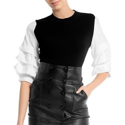 Gracia Tiered Sleeve Knit Top (46% off) - Comparable value $92 found on Bargain Bro from Bloomingdales Canada for USD $40.36