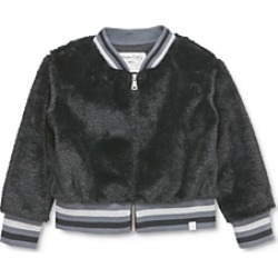 Sovereign Code Girls' Claire Faux-Fur Jacket - Baby