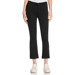 J Brand Selena Cropped Bootcut Jeans in Black Bastille found on MODAPINS from Bloomingdale's Australia for USD $162.21