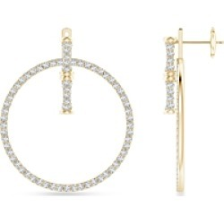 Natori 14K Yellow Gold Diamond Circle Front Back Drop Earrings found on Bargain Bro India from bloomingdales.com for $2730.00