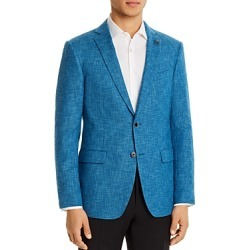 John Varvatos Star Usa Bleecker Textured Solid Slim Fit Sport Coat