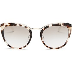 Prada Women's Mirrored Cat Eye Sunglasses, 54mm found on Bargain Bro Philippines from bloomingdales.com for $370.00