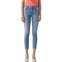 Agolde Sophie High Rise Crop Skinny Jeans in Limit found on MODAPINS from Bloomingdales UK for USD $168.25