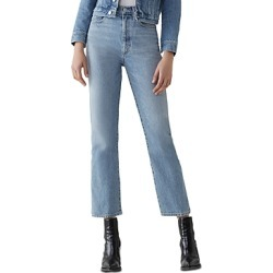 Agolde Pinch-Waist Kick Flare Jeans in Impression found on MODAPINS from Bloomingdales UK for USD $190.11