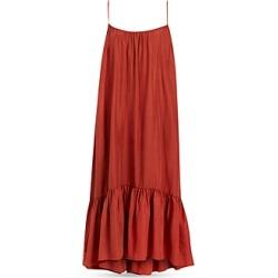 Allsaints Paola Silk Ruffled Dress found on Bargain Bro UK from Bloomingdales UK