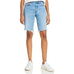Levi's 501 Cotton Frayed Denim Shorts in Luxor Nights found on MODAPINS from bloomingdales.com for USD $39.10