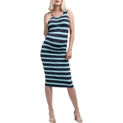 Nom Maternity Striped Snap-Front Midi Tank Dress found on Bargain Bro India from Bloomingdale's Australia for $92.79