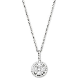 Diamond Pendant Necklace in 14K White Gold, .55 ct. t.w. - 100% Exclusive found on Bargain Bro UK from Bloomingdales UK