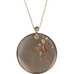 Alexis Bittar Crystal & Large Disc Pendant Necklace, 16 found on Bargain Bro India from bloomingdales.com for $345.00