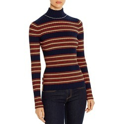 Tory Burch Striped Merino Wool Turtleneck found on Bargain Bro Philippines from bloomingdales.com for $298.00
