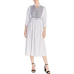 Sandro Alison Striped Cotton Midi Dress found on Bargain Bro India from Bloomingdale's Australia for $196.55