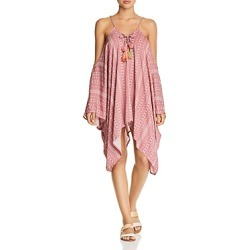Surf Gypsy Pom-Pom Tunic Swim Cover-Up found on Bargain Bro Philippines from bloomingdales.com for $88.00