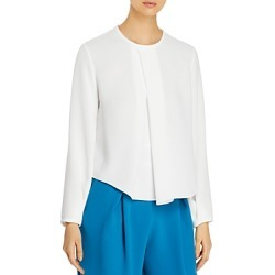 Edeline Lee Pleat-Front Blouse found on MODAPINS from Bloomingdales UK for USD $215.64