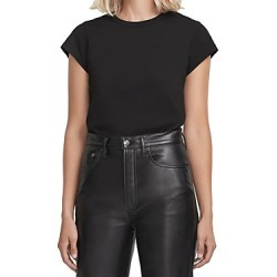 Agolde Irina Cap Sleeve Bodysuit found on MODAPINS from bloomingdales.com for USD $78.00