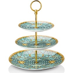 Versace La Scala del Palazzo 3-Tier Etagere found on Bargain Bro Philippines from bloomingdales.com for $625.00