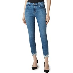 J Brand Alana Ripped Hem Jeans in Project Destruct found on MODAPINS from Bloomingdale's Australia for USD $137.13