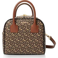 Burberry Small Monogram Stripe E-Canvas Cube Bag found on Bargain Bro Philippines from bloomingdales.com for $1650.00