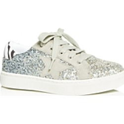 Steve Madden Girls' JRubee Glitter Low-Top Sneakers - Big Kid found on Bargain Bro India from bloomingdales.com for $27.50