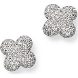 Bloomingdale's Diamond Clover Stud Earrings in 14K White Gold, 0.60 ct. t.w. - 100% Exclusive found on Bargain Bro UK from Bloomingdales UK