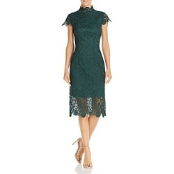 Laundry by Shelli Segal Embroidered Lace Illusion Dress found on MODAPINS from Bloomingdales UK for USD $161.36