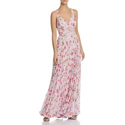 Laundry by Shelli Segal Pleated Floral Gown found on Bargain Bro India from Bloomingdale's Australia for $132.92