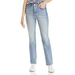 Mother Straight Leg Jeans in Give It Up found on Bargain Bro from Bloomingdales Canada for USD $213.55