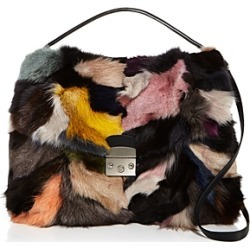 Fur Satchel   100% Exclusive title=
