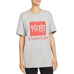 Calvin Klein 1981 Bold Lounge Short-Sleeve Crew Neck Tee found on Bargain Bro India from Bloomingdale's Australia for $40.25