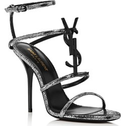Saint Laurent Women's Cassandra 110 High-Heel Sandals found on Bargain Bro Philippines from Bloomingdale's Australia for $764.50