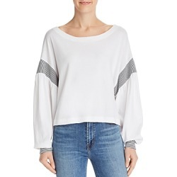 Current/Elliott The Two-Step Knit Top found on MODAPINS from Bloomingdales UK for USD $156.59