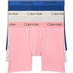 Calvin Klein Microfiber Stretch Boxer Briefs - Pack of 3 found on Bargain Bro UK from Bloomingdales UK