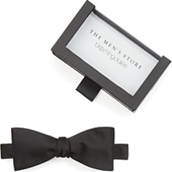 The Men's Store at Bloomingdale's Solid Satin Self-Tie Bow Tie - 100% Exclusive found on Bargain Bro UK from Bloomingdales UK