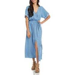 Karen Kane Belted Denim Dress found on Bargain Bro Philippines from bloomingdales.com for $97.30