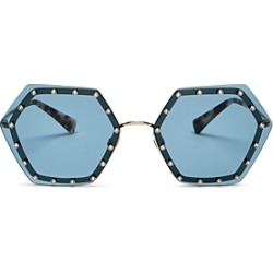 Valentino Women's Rimless Embellished Geometric Sunglasses, 62mm found on Bargain Bro Philippines from Bloomingdale's Australia for $455.13